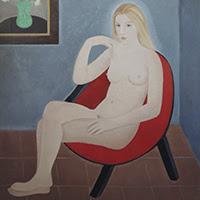Juan Navarro Ramón pintura figurativa desnudos