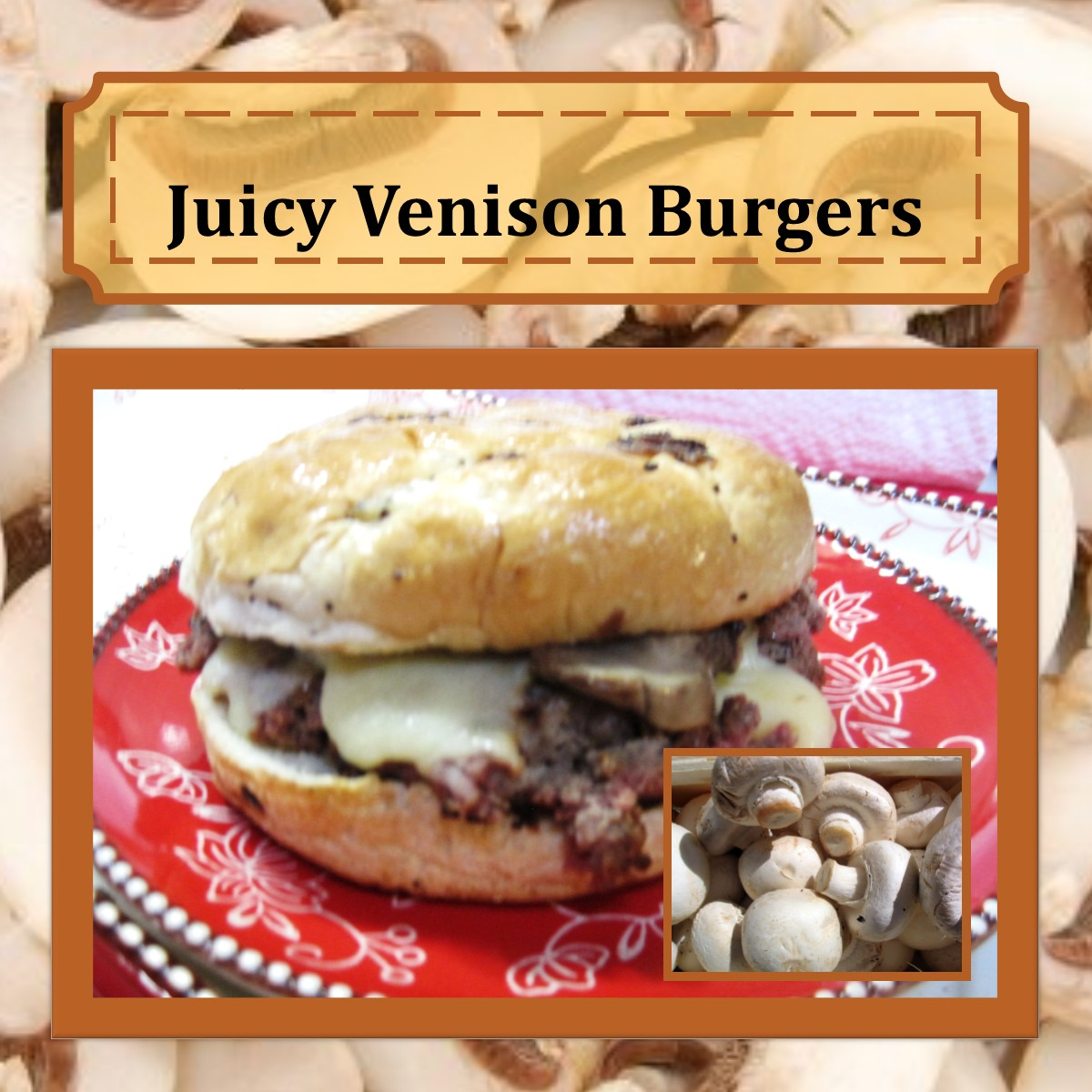 how to cook venison burgers