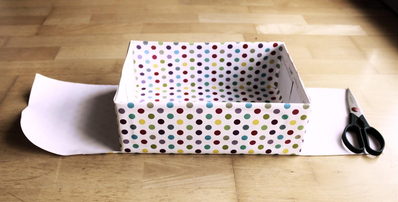Geschenkbox basteln