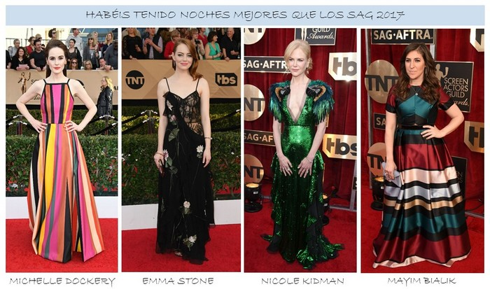 Peores Looks de SAG Awards 2017