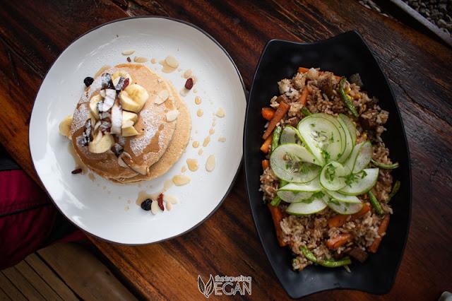 vegan menu hayahay cafe