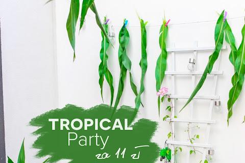Jak zorganizowałam Tropical Party na tarasie za 12 zł :) - czytaj dalej »