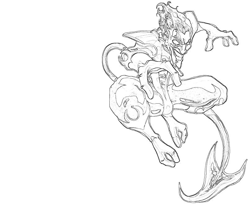 Marvel Nightcrawler Page Coloring Pages