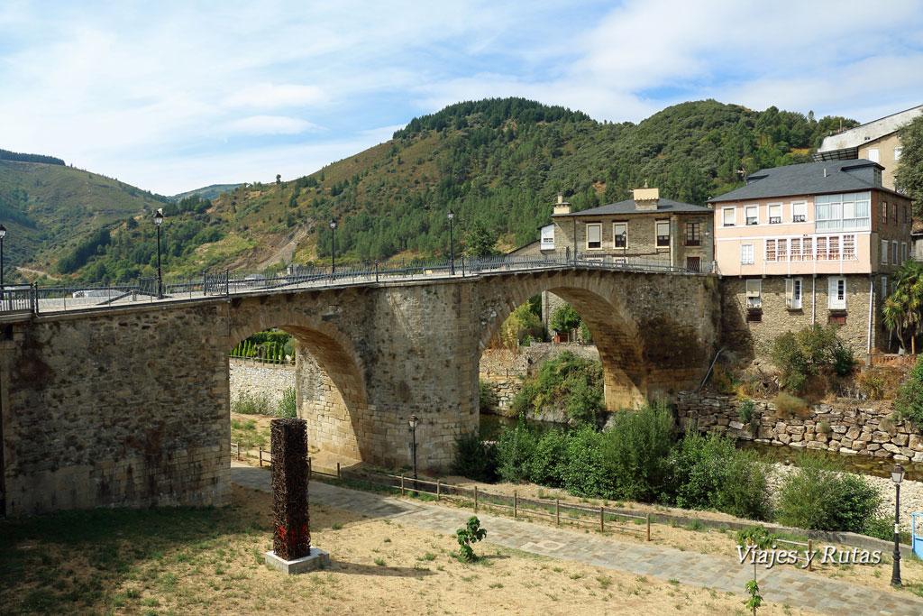Puente medieval, Villafranca del Bierzo, León