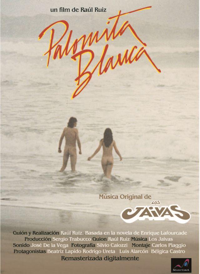"""Afiche """"Palomita Blanca"""" de Raúl Ruiz"""