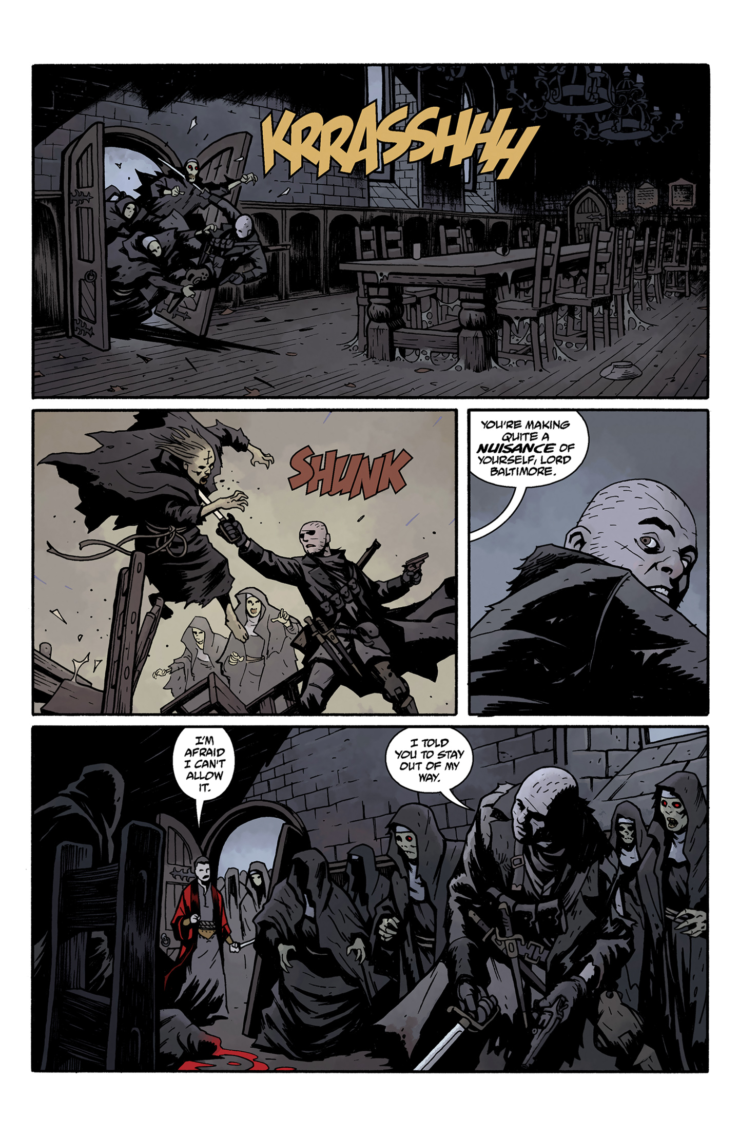 Read online Baltimore: The Curse Bells comic -  Issue #5 - 10
