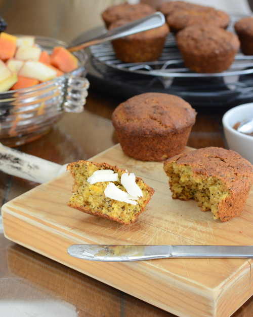 Sunshine Orange Muffins from Canada's Best of Bridge ♥ KitchenParade.com