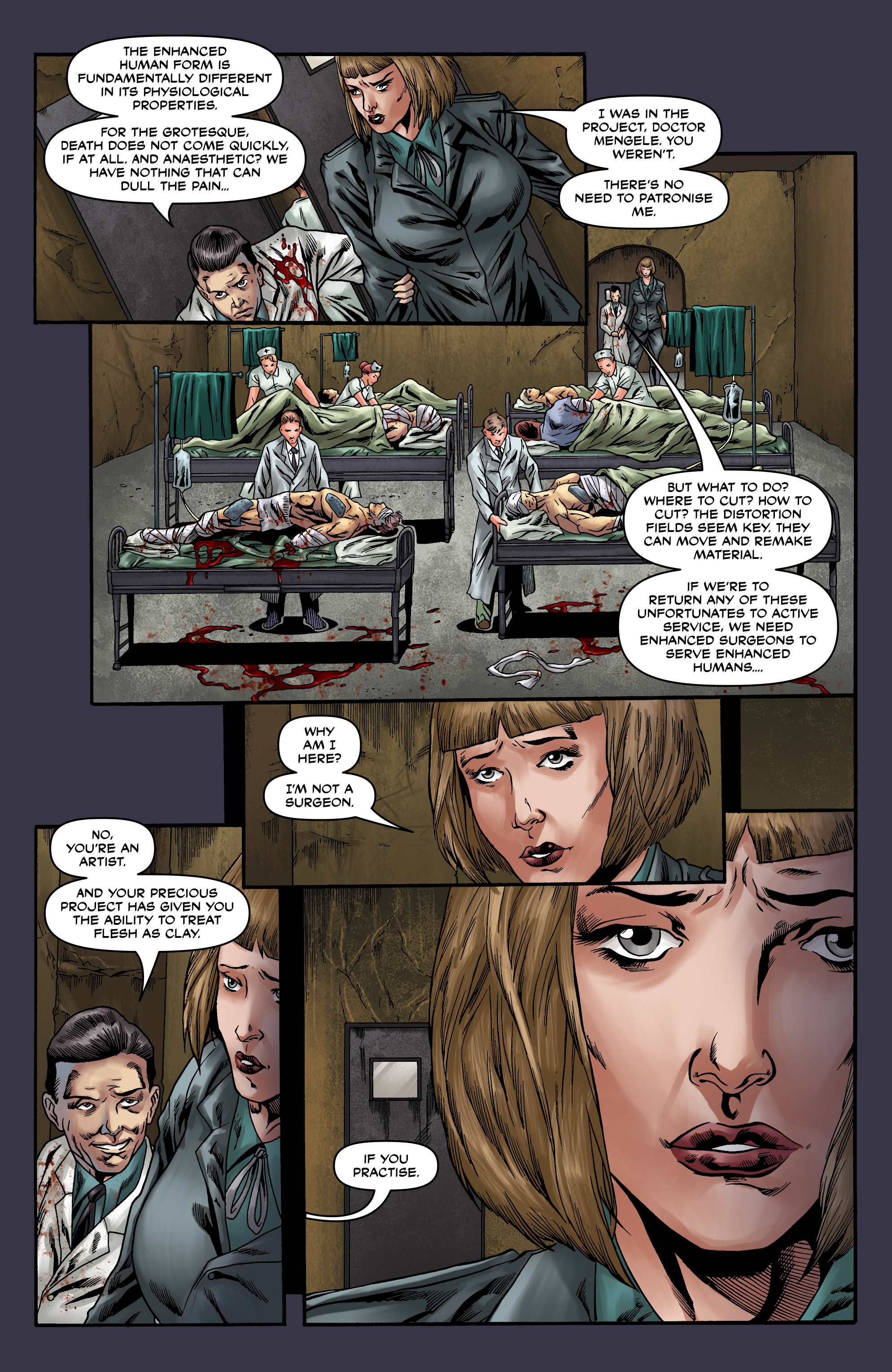 Read online Uber comic -  Issue #20 - 21