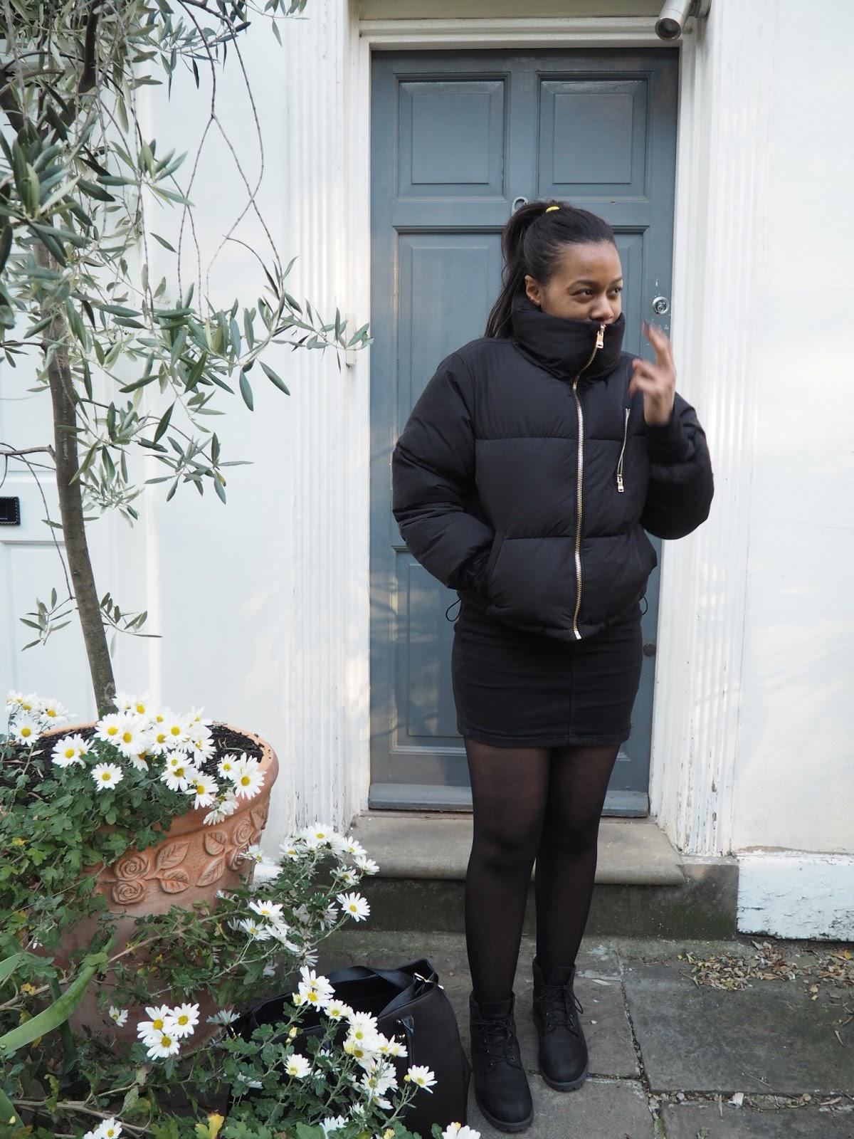 Bershka Puffy Jacket 4