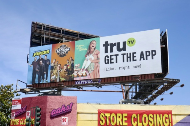 TruTV Get the app billboard