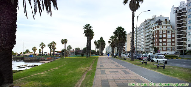 Punta Carretas | Rambla, parques e edificios.