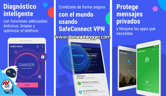 Security Master para Android