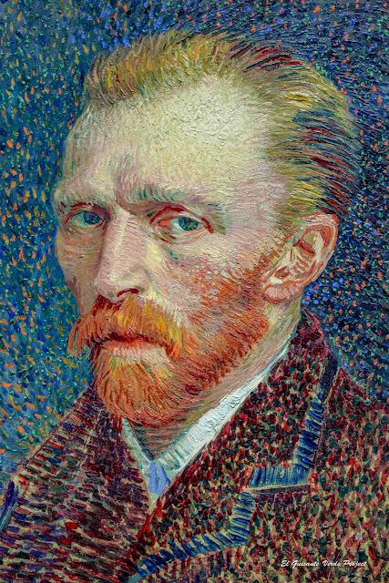 Van Gogh, Autorretrato en París - Art Institute Chicago por El Guisante Verde Project