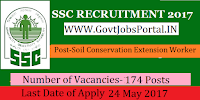 Odisha Staff Selection Commission – 174 Soil Conservation Extension Worker
