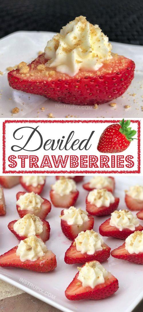 Deviled Strawberries Recipes
