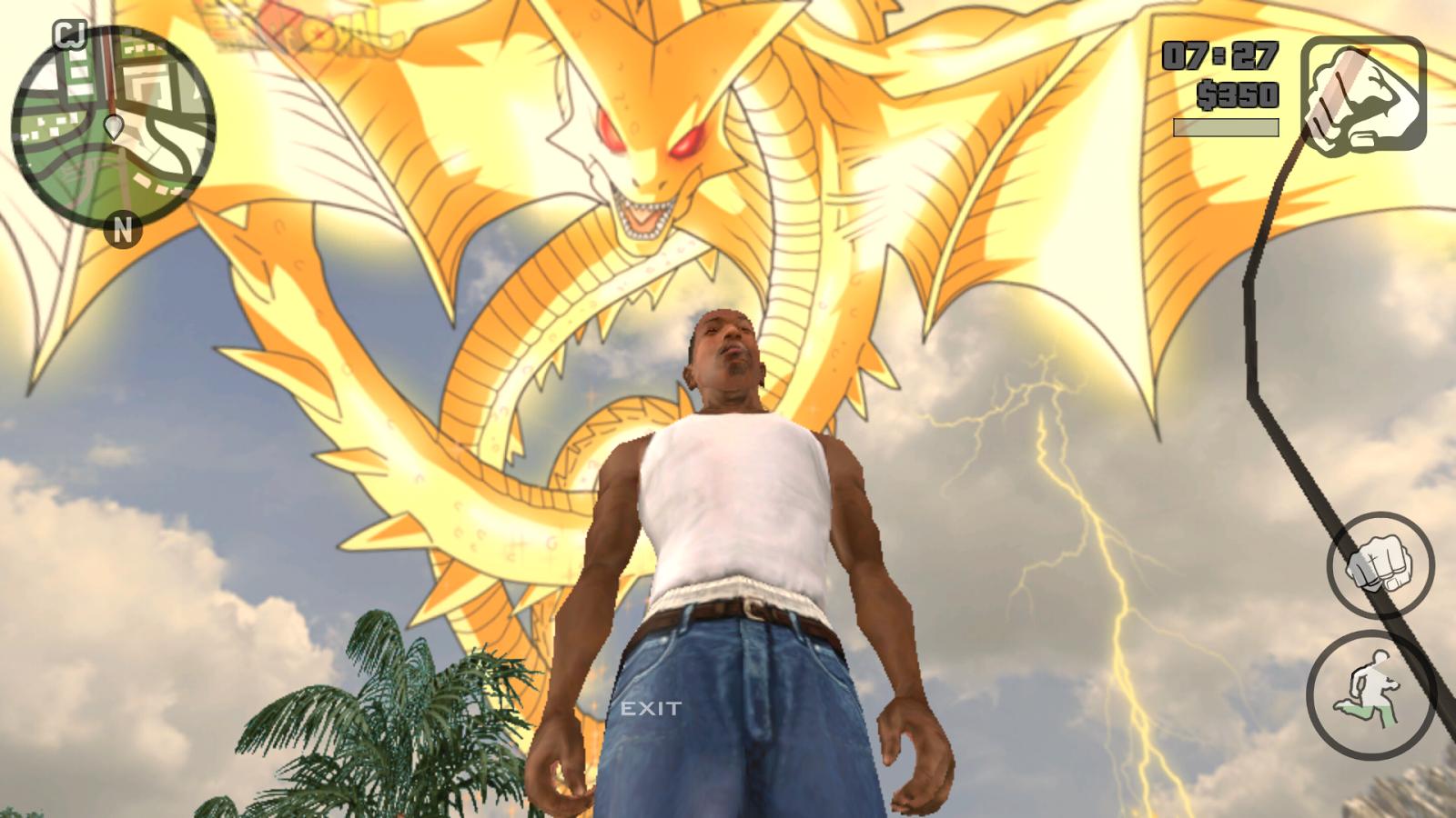 Dragon Ball Super Mod in Gta Sa Android