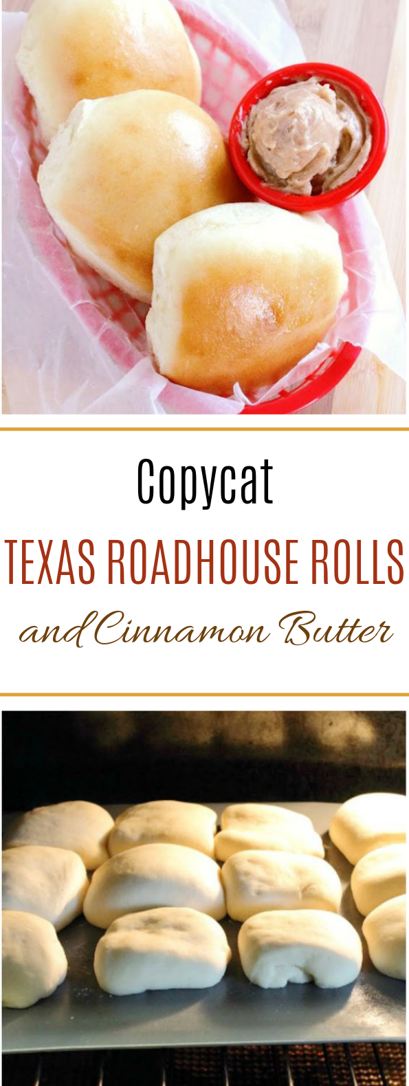 Copycat Texas Roadhouse Rolls and Cinnamon Butter #dinner #bread