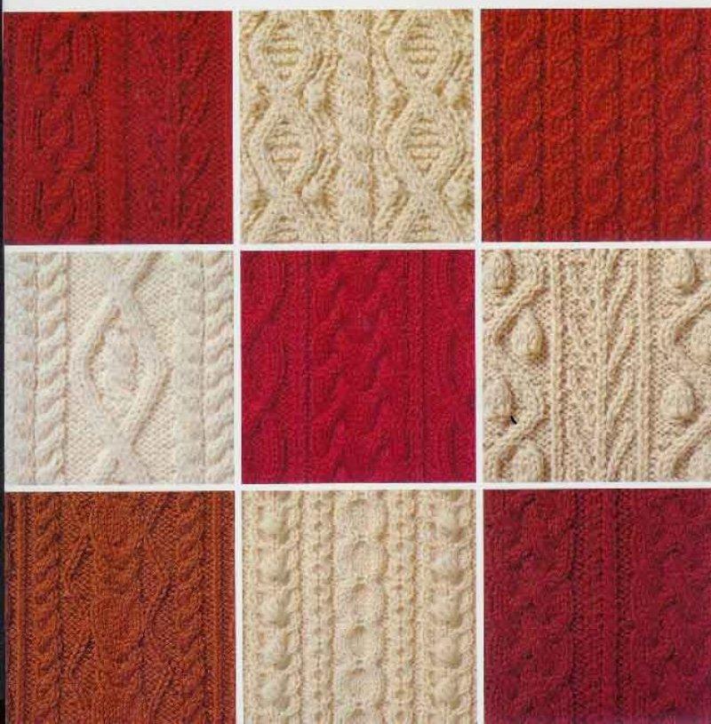 Mis tejidos en crochet y dos agujas palitos iknitts - Tipos puntos dos agujas ...