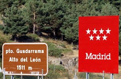 Puerto de Guadarrama, Puerto de los Leones o Alto del León