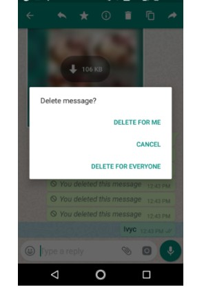 How To Delete WhatsApp Messages For Everyone