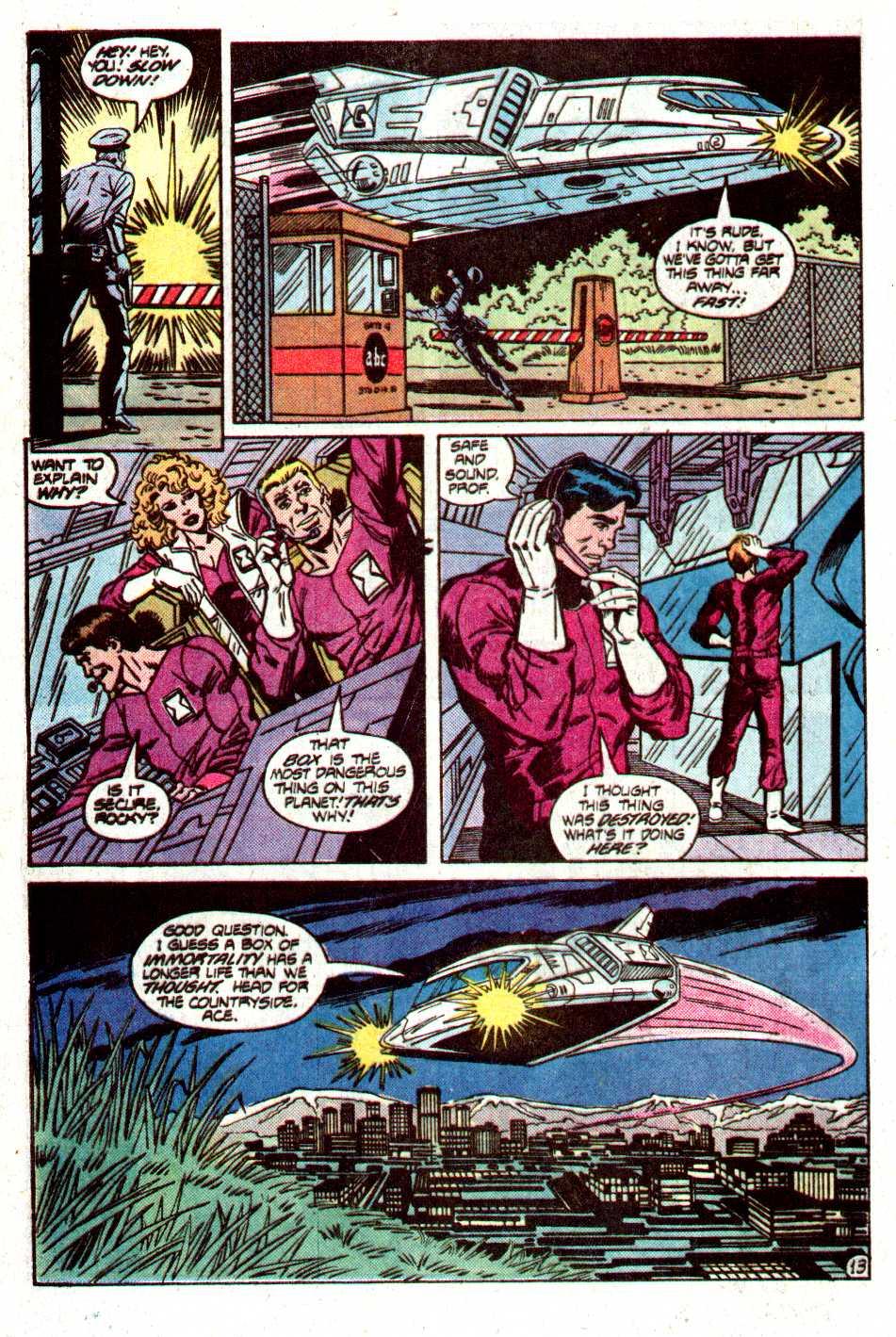 Read online Secret Origins (1986) comic -  Issue #12 - 31