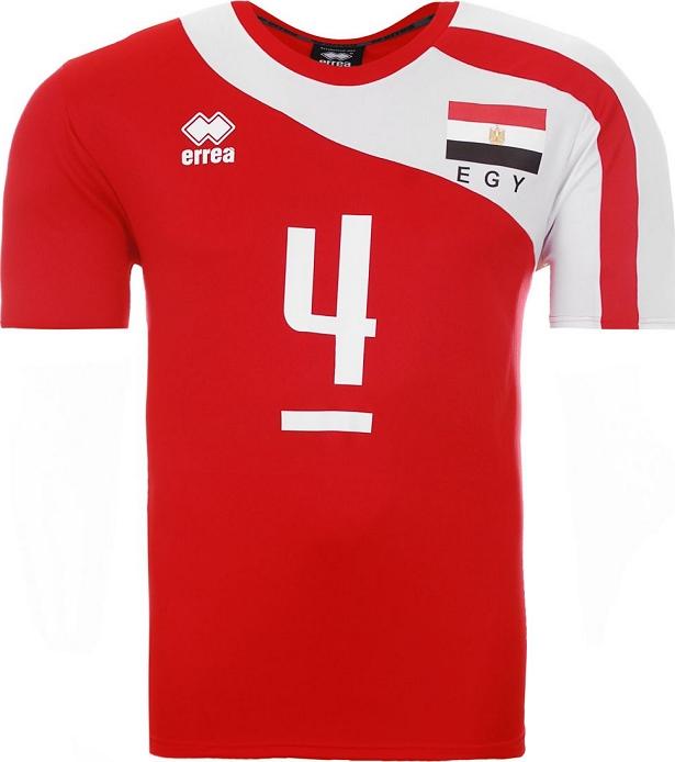 25fdc2dfe Errea lança novas camisas da seleção de vôlei do Egito - Testando ...