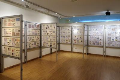 Exposición filatélica en Ribadesella