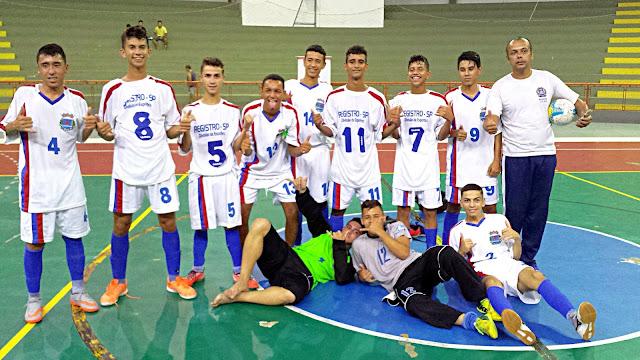 Futsal de Registro-SP é campeão da fase sub-regional dos Joguinhos