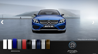 Mercedes AMG C63 S Edition 1 2015 màu Xanh Brilliant 896