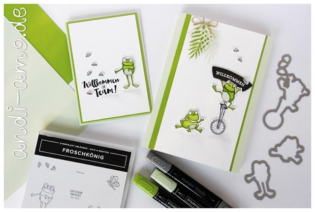 Stampin Up Froschkönig Einstiegs-Geschenk