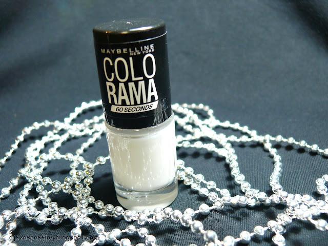 W poszukiwaniu idealnej bieli - Maybelline ColoRama nr 51