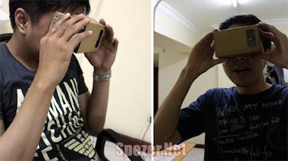 Bermain game Virtual Reality (VR) di Android