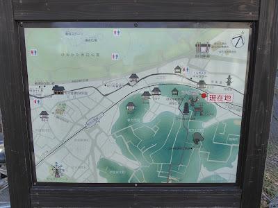 万年寺山 周辺地図