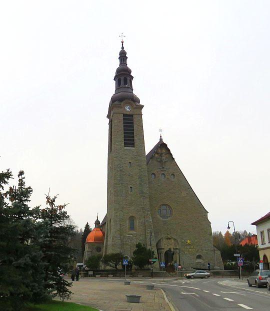 Bazylika Matki Boskiej Bolesnej w Limanowej.