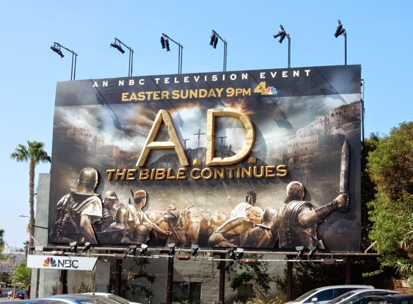A.D. The Bible Continues 3D billboard