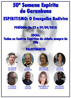 50ª SEMANA ESPIRITA