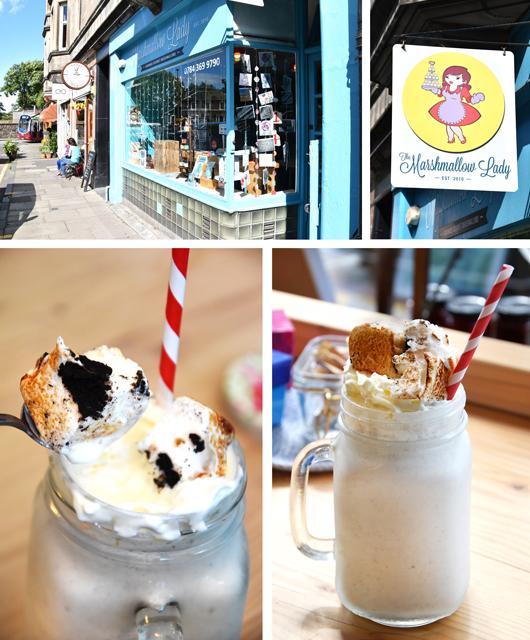Die besten Marshmallow von Edinburgh