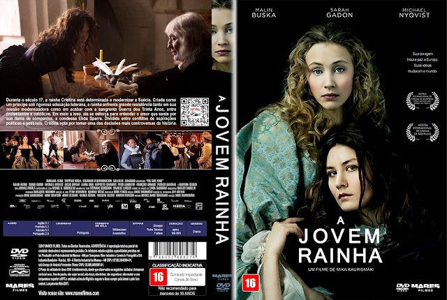 Capa DVD A Jovem Rainha [Exclusiva]