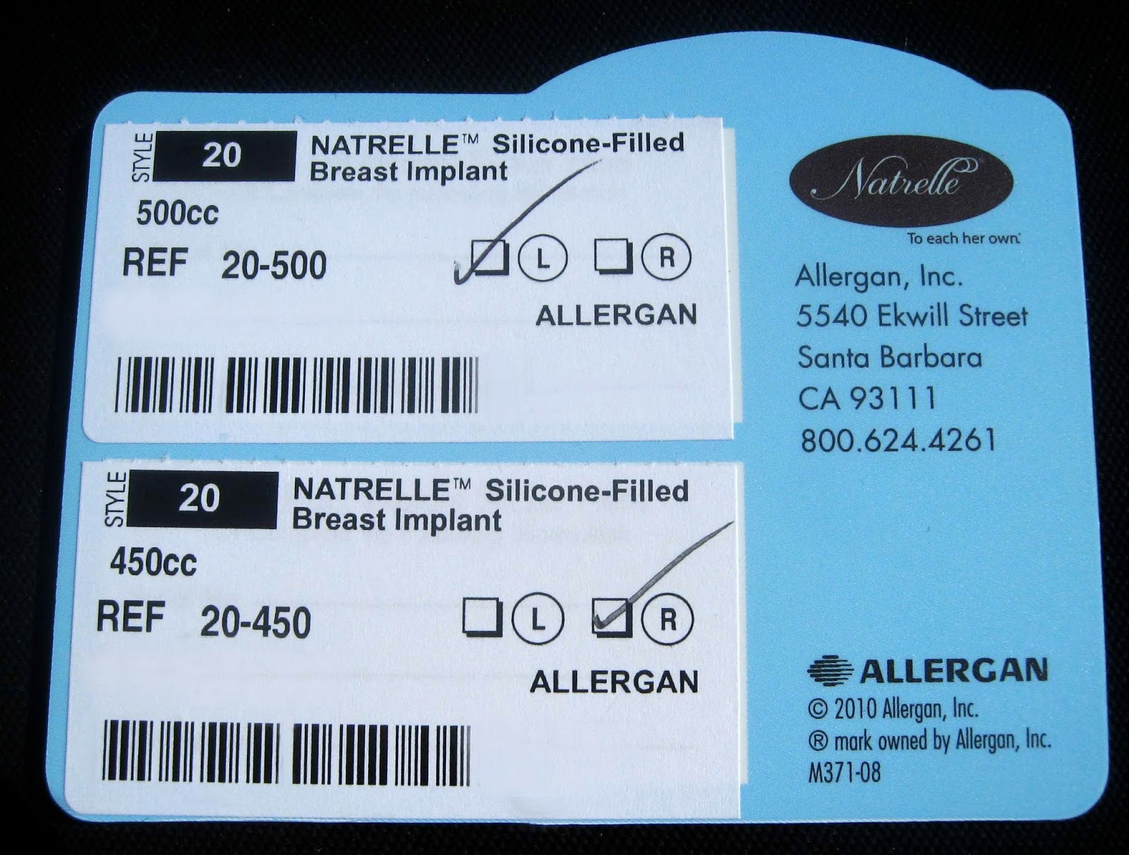 500cc breast implants pictures C Cup Vs D Cup Implants