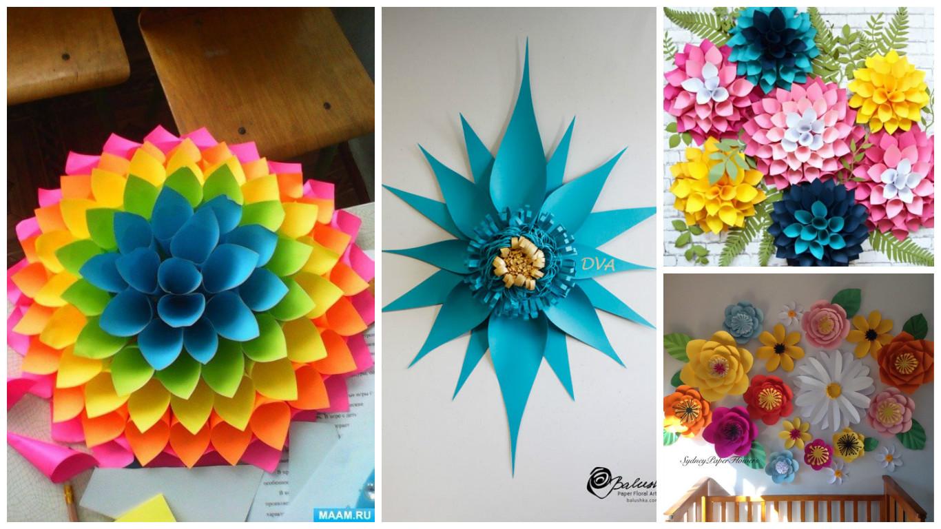 7 moldes y tutorial para hacer lindos adornos de papel for Adornos para pared