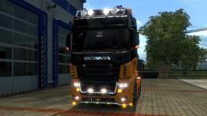 Scania R700 AU44 truck mod