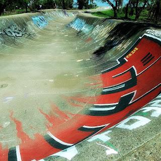 Fim do Túnel de Skate - Parque Marinha do Brasil