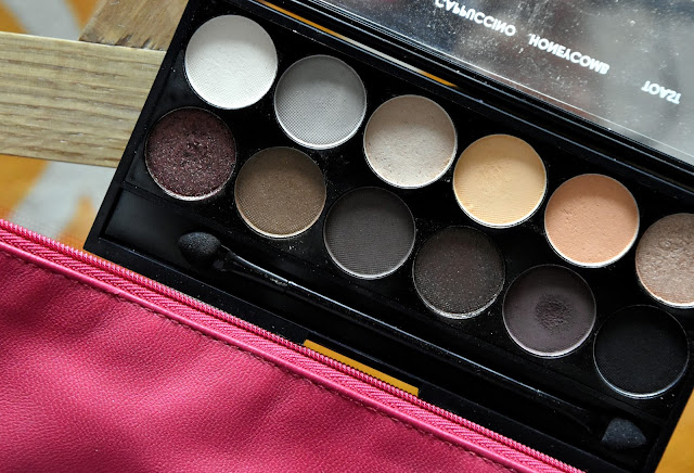 Sleek Au Naturel Lidschatten Palette