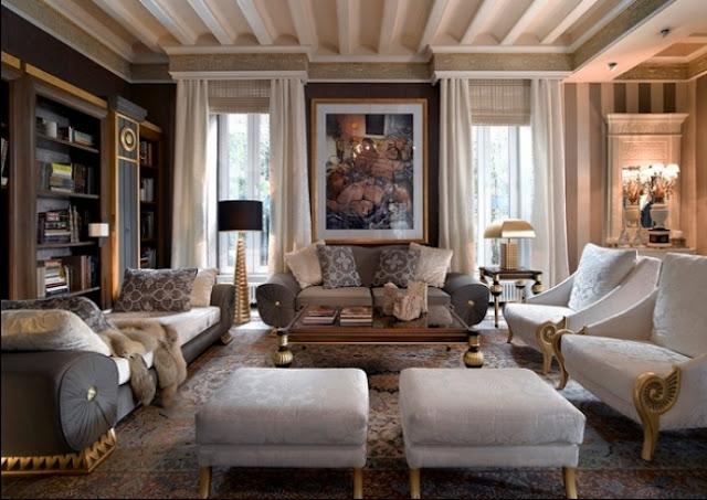 Gambar Ruang Tamu Mewah Dan Elegan