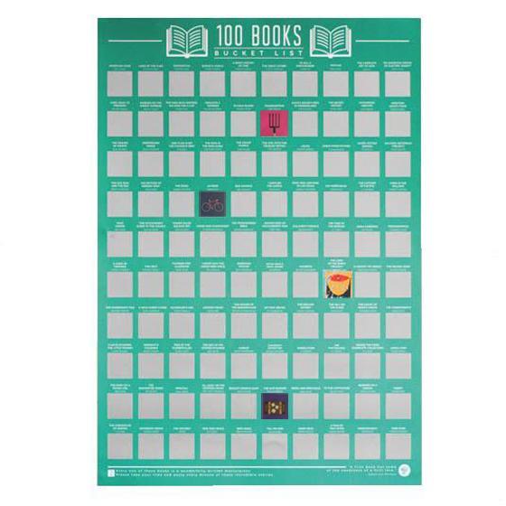 Book Bucket List Poster