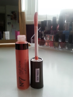 No7 High Shine Lipgloss - Coral Kiss