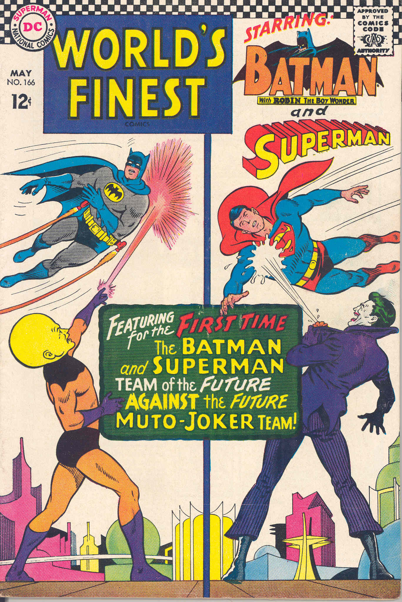 Read online World's Finest Comics comic -  Issue #166 - 1