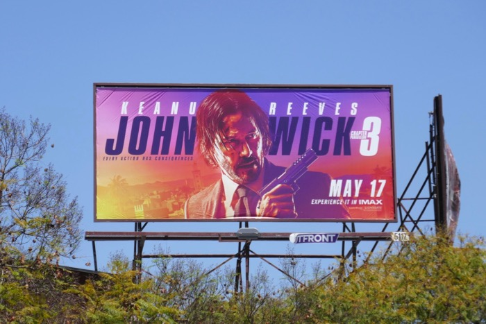 John Wick Chapter 3 billboard