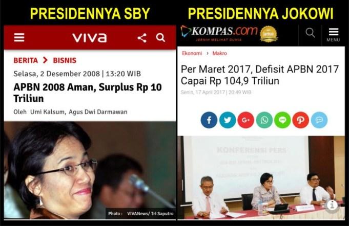 Menterinya Sama Sri Mulyani, Tapi Hasil Beda Antara SBY dan Jokowi, Memang Persoalan Pada Kapasitas Presiden