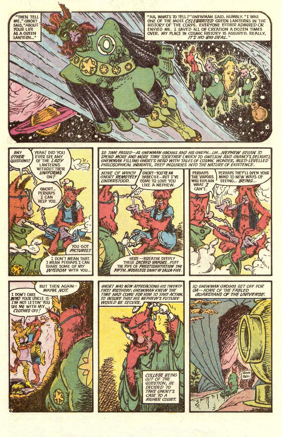 Read online Secret Origins (1986) comic -  Issue #34 - 42